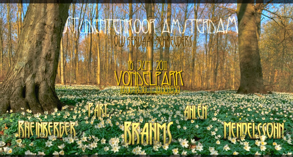 vondelpark poster v1.2